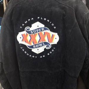 Other - Super Bowl XXXV suede jacket